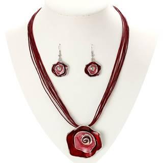 Set Mystic Flower-Červená