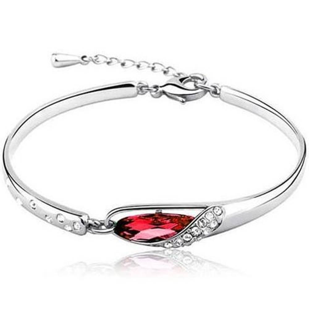 Izmael Náramok bridal crystal - Červená