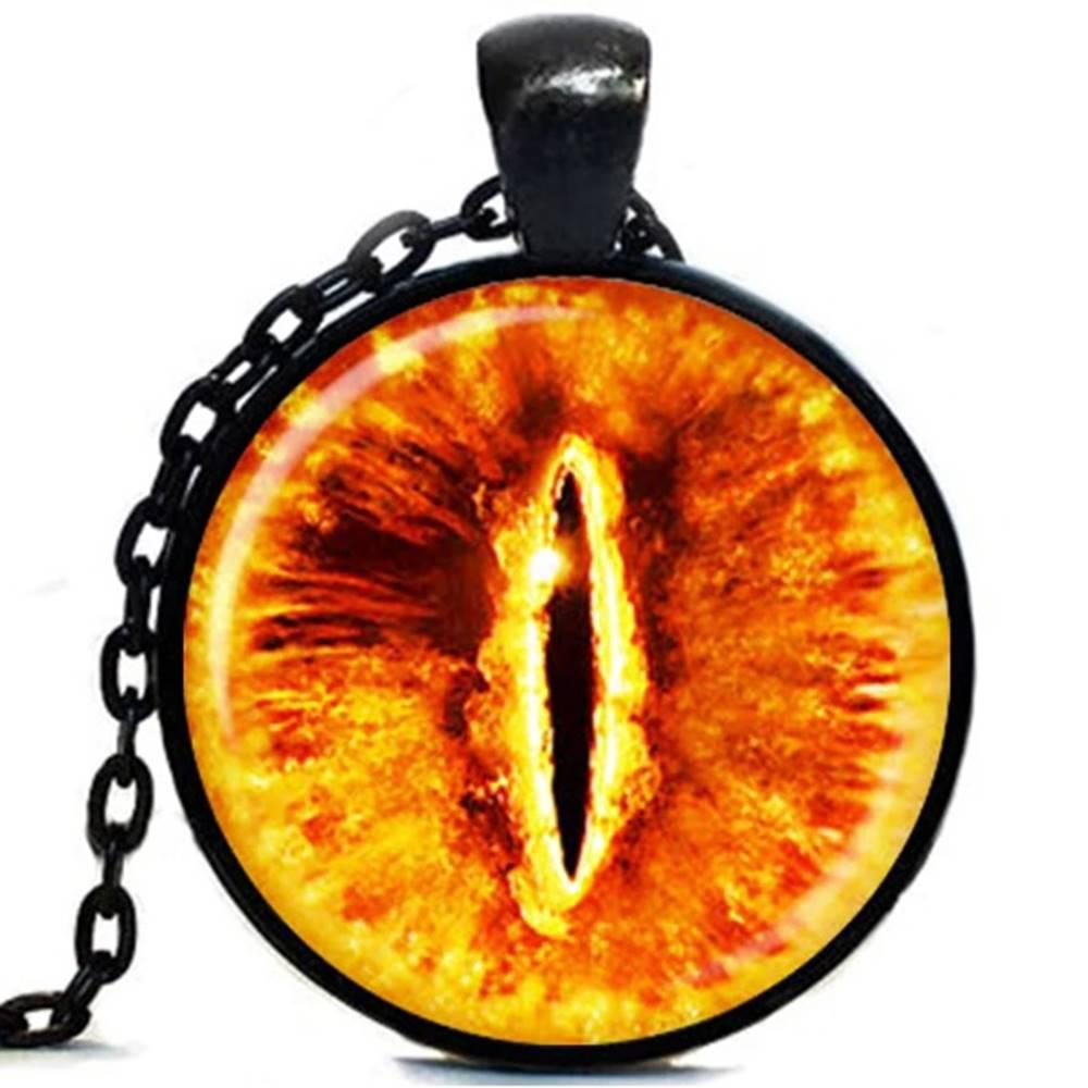 Izmael Náhrdelník Evil Eye-Čierna