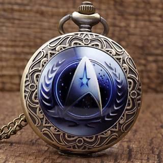 Vreckové Hodinky Star Trek-Modrá
