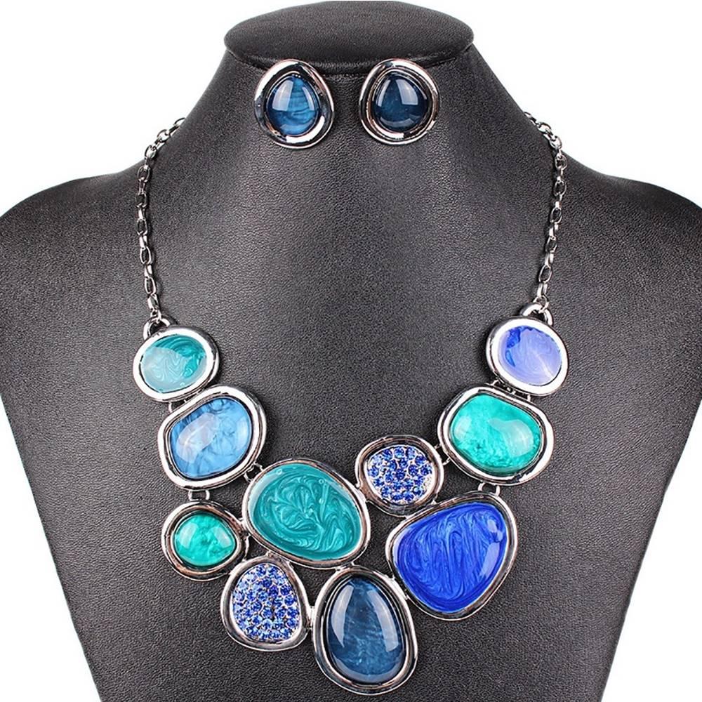 Izmael Set Stone Consort-Modrá