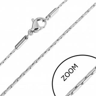Oceľová retiazka - články v tvare paličiek - Dĺžka: 405 mm