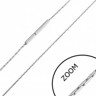 Oceľová retiazka z tenkých paličiek, 0,8 mm