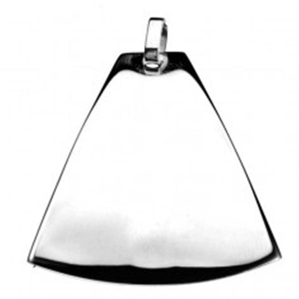 Šperky eshop Prívesok z chirurgickej ocele - zaoblený zvon