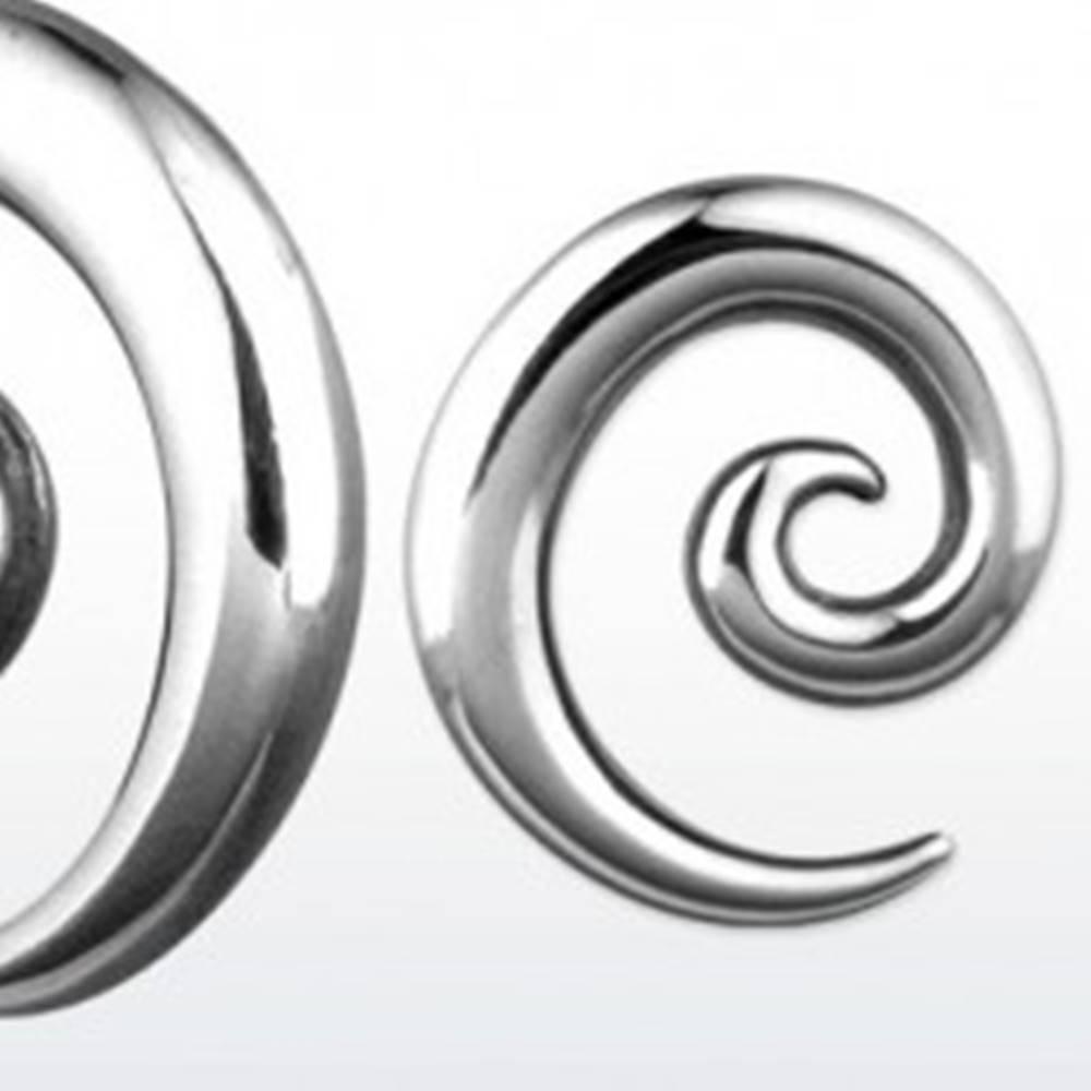 Šperky eshop Expander oceľový slimáčia špirálka, rôzne veľkosti - Hrúbka piercingu: 2 mm