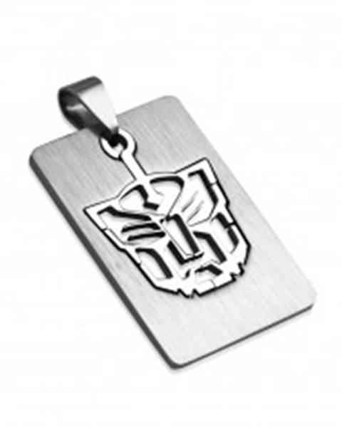 Šperky eshop Prívesok z ocele známka - Tiger