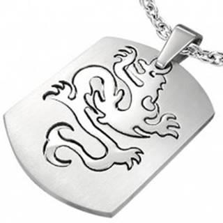 Prívesok z ocele známka - Dragon