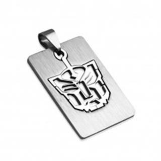 Prívesok z ocele známka - Tiger
