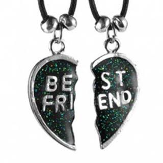 Náhrdelníky BEST FRIEND - rozpolené srdce