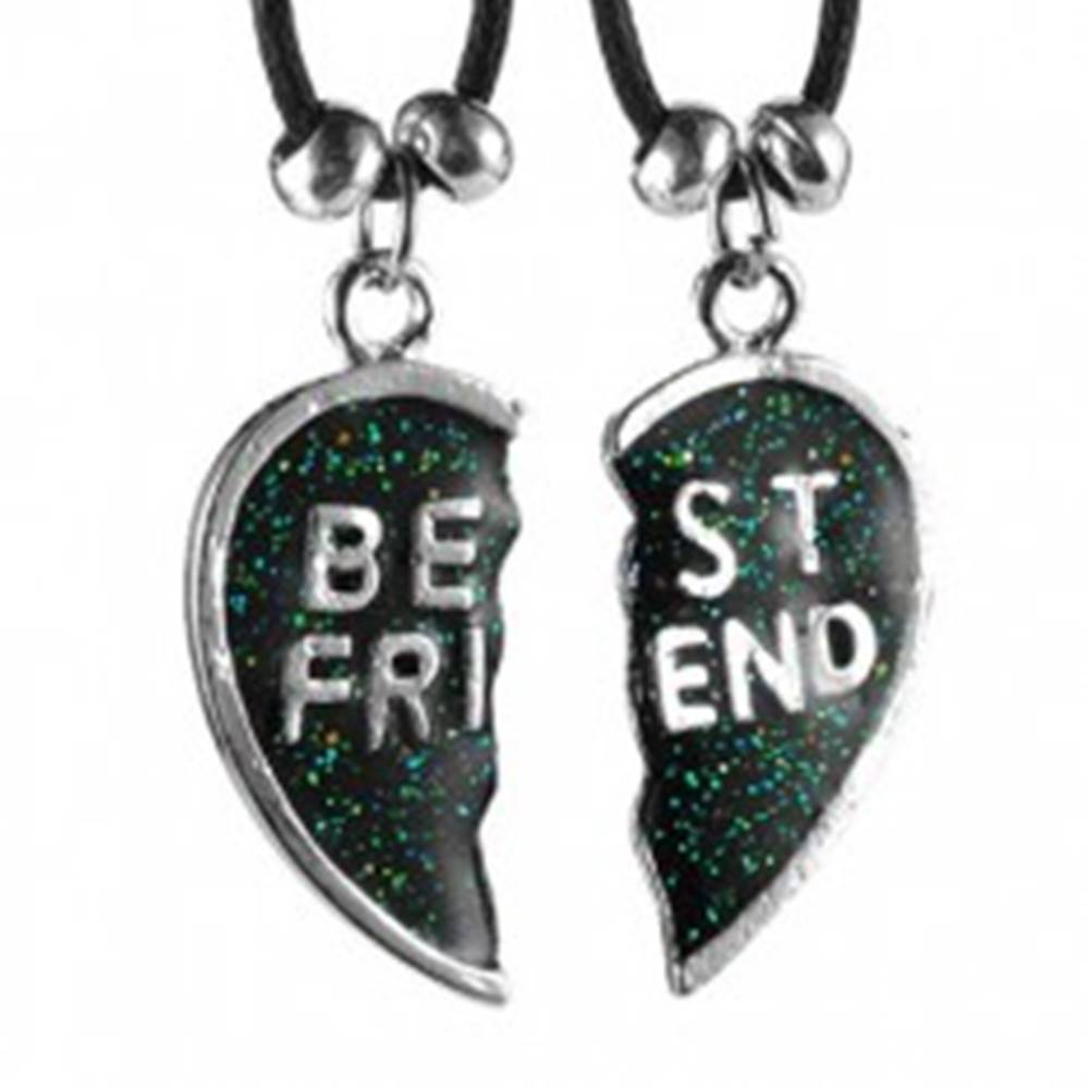 Šperky eshop Náhrdelníky BEST FRIEND - rozpolené srdce