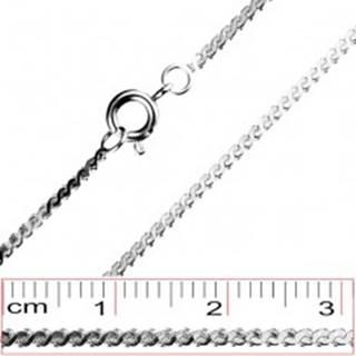 Retiazka z chirugickej ocele - prepojené S články, 1,4 mm
