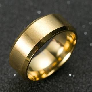 Prsteň Manlike-Zlatá/62mm