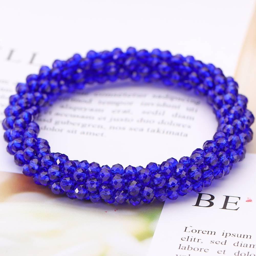 Izmael Náramok Beads-Modrá