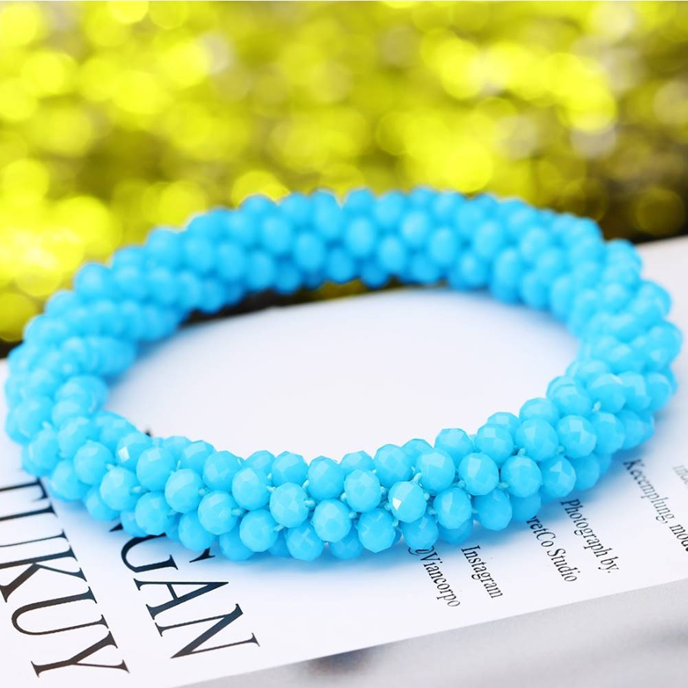 Izmael Náramok Beads-Sl.Modrá