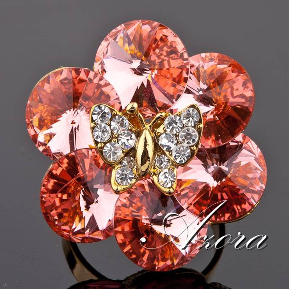 Izmael Prsteň Butterfly AZORA-Zlatá
