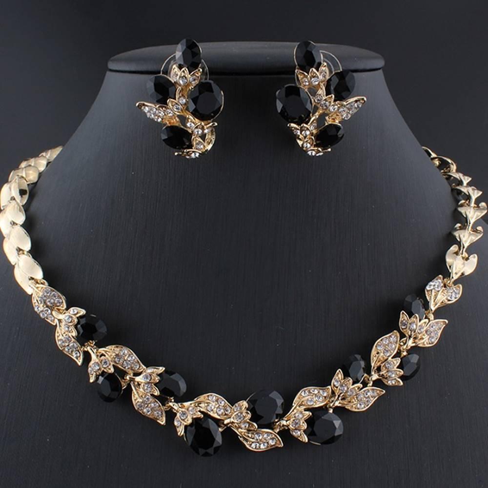 Izmael Set Crystal Branch-Zlatá/Čierna
