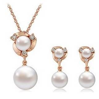 Set Pearl Amulet - Zlatá