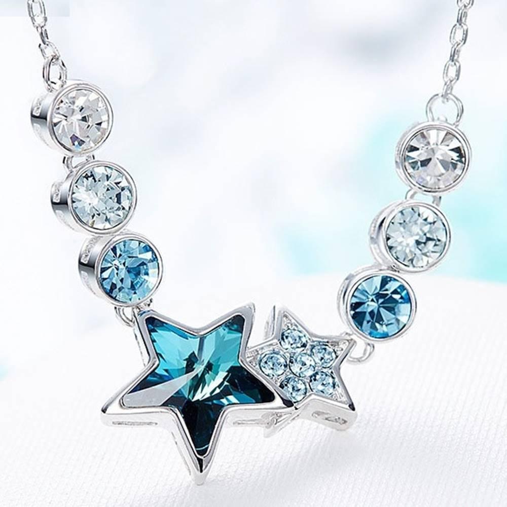 Izmael Náhrdelník Blue Star EXCLUSIVE-Modrá