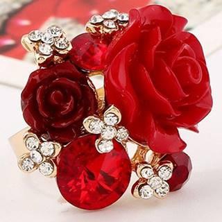 Prsteň Lill-Červená